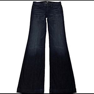 7 For All Mankind Jeans - NWT 7 For All Mankind Dojo 30 x 35 Long Flare